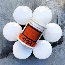 pot porcelaine apothicaire toxique ancien vintage 1920 1900 1930 de pharmacie produit chimique chimie codex