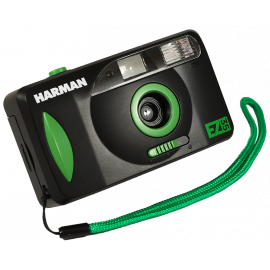 Harman EZ 35 Camera 35mm Pack reusable reloadable analog film motor motorized film winding rewinding EZ35