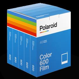 party pack 40 films pack set polaroid originals impossible film 600 color for polaroid white frame vintage