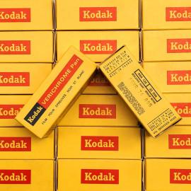 Pellicule argentique Kodak Verichrome Pan 125 Périmée 125 620 rare format 1974