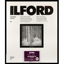 ilford mgrc multigrade V 5 perlé 18 24cm 25 feuilles deluxe rc résine couchée tirage papier argentique noir et blanc
