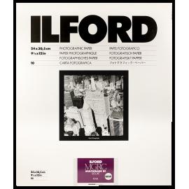 ilford mgrc multigrade V 5 perlé 24 30cm 10 feuilles deluxe rc résine couchée tirage papier argentique noir et blanc