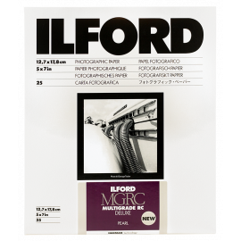 ilford multigrade mgrc V 5 pearl resin coated variant photo paper black and white rc resin coated 13 18cm 25 pieces sheets