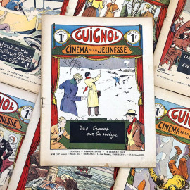 revue guignol cinéma de la jeunesse 1935 1936 illustration journal illustré