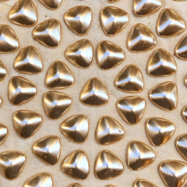 pebble triangle decor stone golden gold glass 1930 1920 hairdresser women fashion
