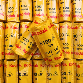 pellicule 120 ektachrome kodak E100 G diapo moyen format argentique photographie photo 2012
