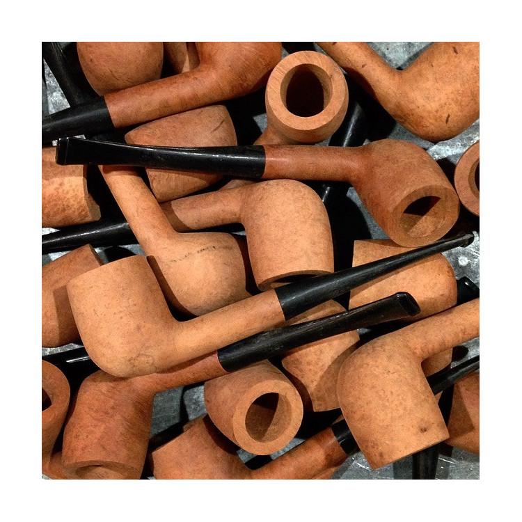 tobacco pipe st-claude antique vintage right jura wood workshop 1970