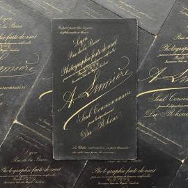 photo card cardboard antoine lumiere vintage antique 1880 1890 rue de la barre lyon