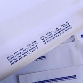 sncf railway train rail france belgium paper envelope kraft 1970 1980