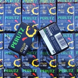 pellicule périmée argentique 35mm couleur perutz PR 100 color 12 poses 1994