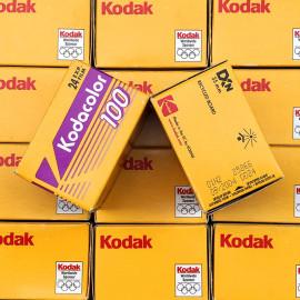 expired 35mm photo film vintage kodak kodacolor 100 2004 color vintage