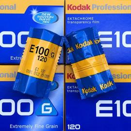 pellicule 120 ektachrome kodak E100 G diapo moyen format argentique photographie photo 2005