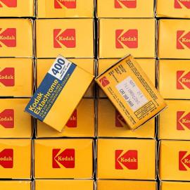 kodak ektachrome 400 400D daylight diapo diapositive slide film color analog camera 36 exposures vintage expired