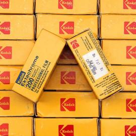 kodak ektachrome 200d 200 daylight 1981 analog film expired medium format 120