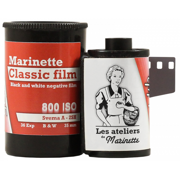 Marinette Classic Film 800 Iso Film Svema Astrum A 2SH high iso analog film grain black and white