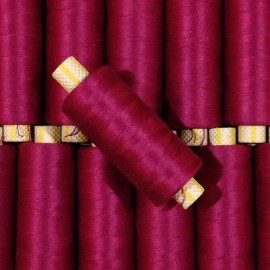 magenta bobine fil cotton ancien vintage mercerie 1990