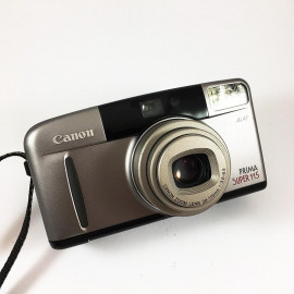 Canon camera analog prima super 115 35mm compact autofocus zoom 38mm 115mm 3.6 8.5 point and shoot