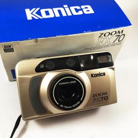 Konica Zoom FX70 35-70mm compact argentique zoom 135 35mm appareil photo ancien