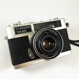 chinon 35EE chinonex color 35mm 38mm 2.7 compact rangefinder analog camera