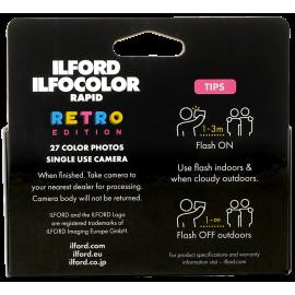 single use camera ilford camera color ilfocolor retro rapid film analog cameras vintage flash 27 exposures