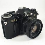 canon ae1 ae-1 reflex analog 50mm 1.8 35mm 135 black film photography