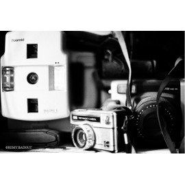 Marinette Classic Film 400 Iso Film Svema Astrum Type 17 aerial high 400 iso analog film grain black and white sample