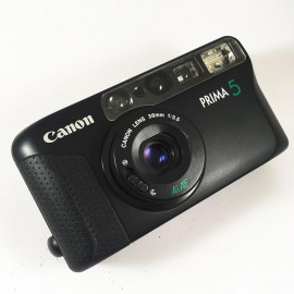 analog camera small little prima 5 35mm point and shoot 135 compact 38mm 3.5