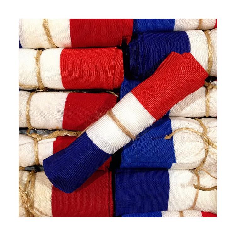 ruban france tricolore drapeau bande élastique ancien vintage mercerie 1960