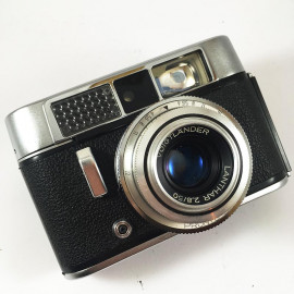 voigtlander vito clr lanthar analog 35mm 50mm 2.8 compact rangefinder analog camera