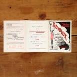 dépliant publicitaire révolux gaines modernes mercerie ancienne vintage 1950 papier