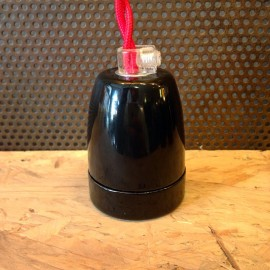 E27 black china socket electric electricity light