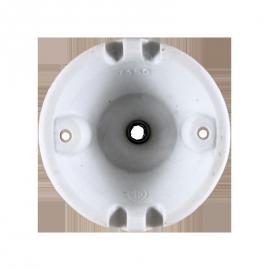 rosace céramique électricité mur plafond ancien vintage quincaillerie accessoire e27 porcelaine