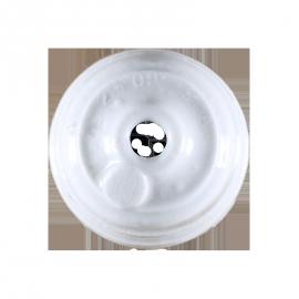 rosace céramique électricité mur plafond ancien vintage quincaillerie accessoire e27 45mm 4,5cm