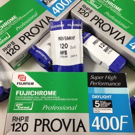 fuji provia 400F 120 Fujifilm medium format analog color vintage expired