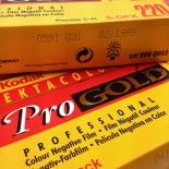 pellicule 220 kodak ektacolor pro gold 160 couleur négatif argentique 1999 120