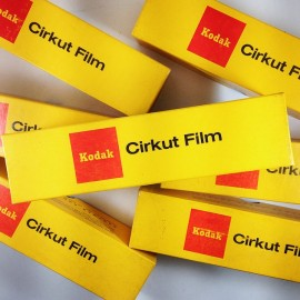kodak verichrome pan panchromatic cirkut camera panoramic film 8inch 5 feet analog photography 1975
