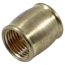 Brass coupling metal metallic M10 electric electrical thread rode