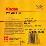 kodak pro 400 10 inch 6 feet film pellicule argentique périmé périmée photo photographie