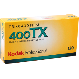 kodak tri x 400 120 film black and white unique grain medium format pro pack 5