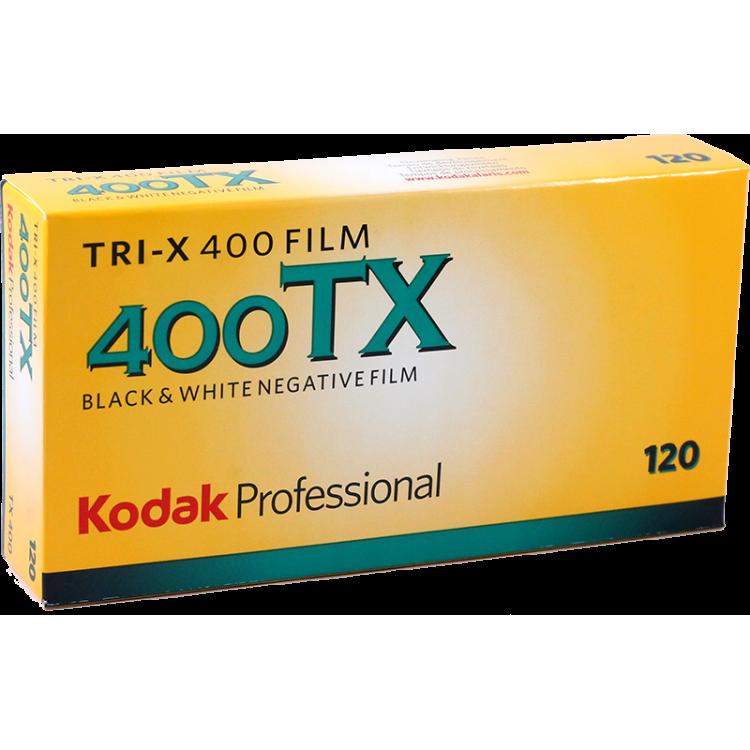 kodak tri x 400 film 120 noir et blanc bobine rouleau moyen format grain unique pack 5