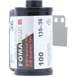 35mm fomapan R 100 Direct positive reversal process diapo slide