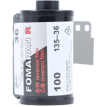 fomapan r 100 reversible inversible 35mm 135 pellicule argentique noir et blanc