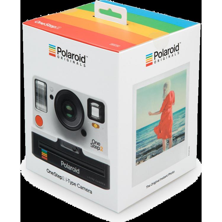 polaroid originals one step 2 camera appareil argentique film instantané instant vintage blanc