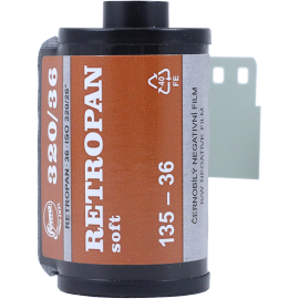 retropan 320 foma fomapan 35mm 135 black and white retro soft analog film
