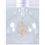 light lightbulb led electricity e27 globe spiral 5w