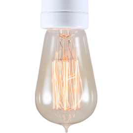 light lightbulb carbon filament electricity e27 1910 30w