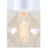 ampoule filament carbone e27 électricité quincaillerie lampe spirale 30w
