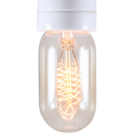 light lightbulb carbon filament electricity e27 radio 30w