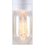 ampoule filament carbone e27 électricité quincaillerie lampe radio 30w