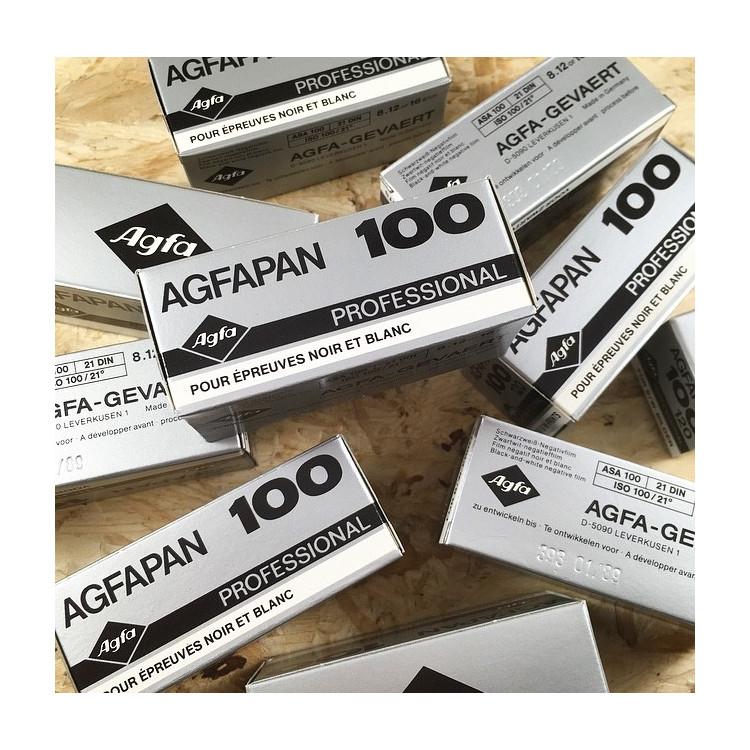 expired film vintage analog 1989 agfa agfapan 100 black and white 100 ISO film 120